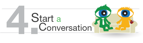 Accountability Step 4: Start a Conversation