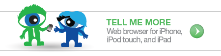 Web browsing for iPhone, iPod touch, and iPad