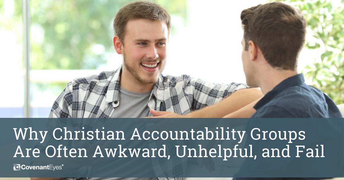 accountability group often awkward, unhelpful