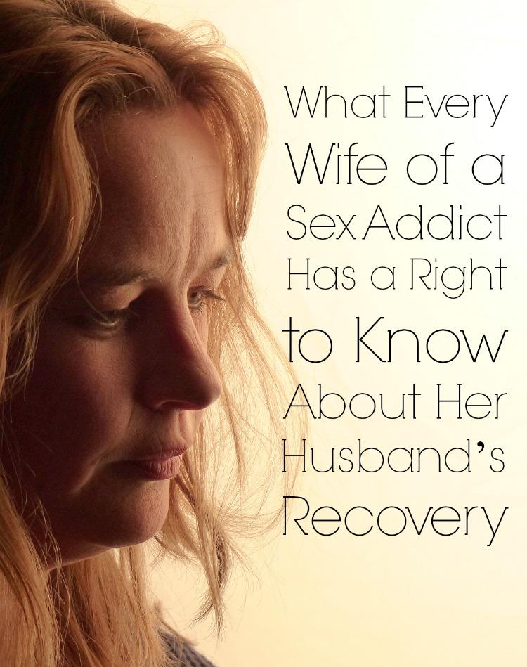 Signs husband has sex addiction