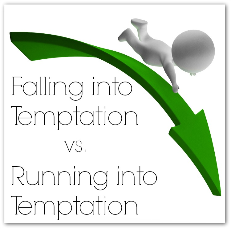Falling into Temptation vs. Running into Temptation