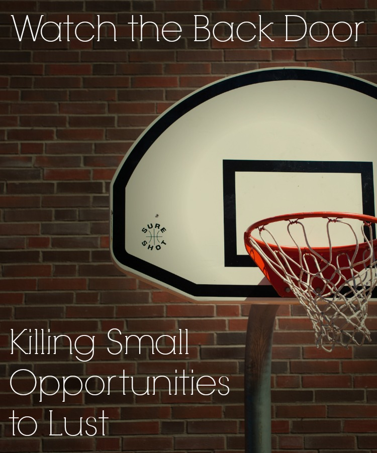 Killing Small Opportunities to Sin
