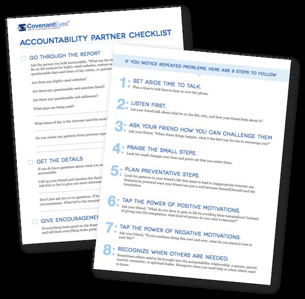 Accountability Partner Checklist