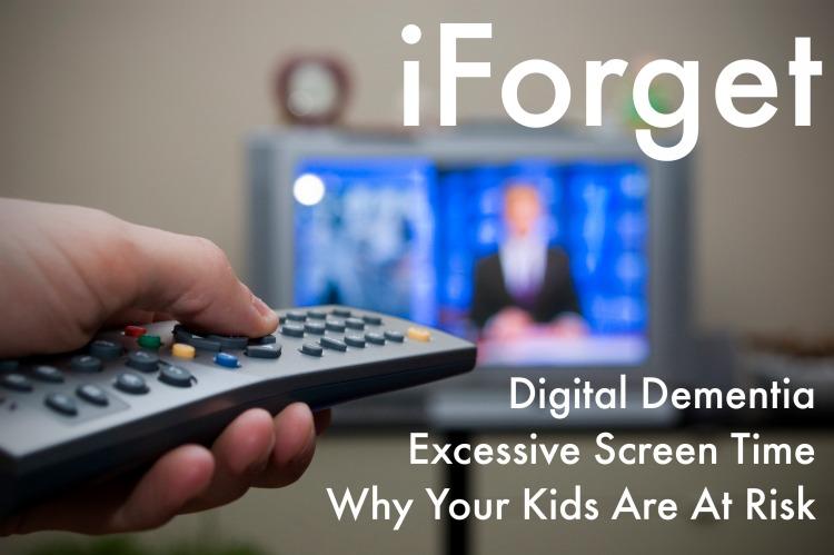 iForget - Digital Dementia - Screen Time