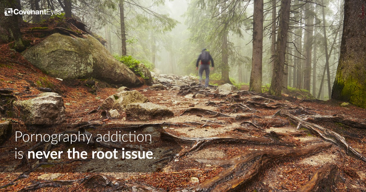 Porn addiction never the root issue
