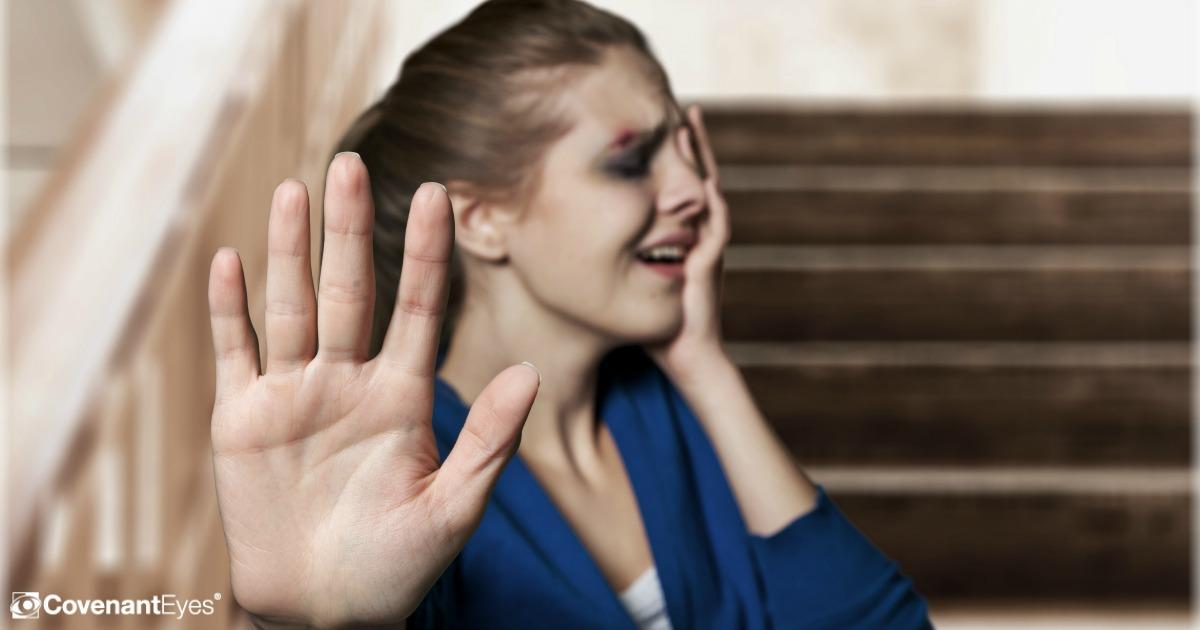 girl in pain
