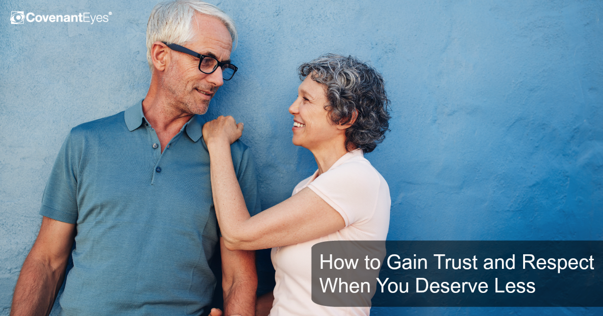 Gaining Trust and Respect When You Deserve Less
