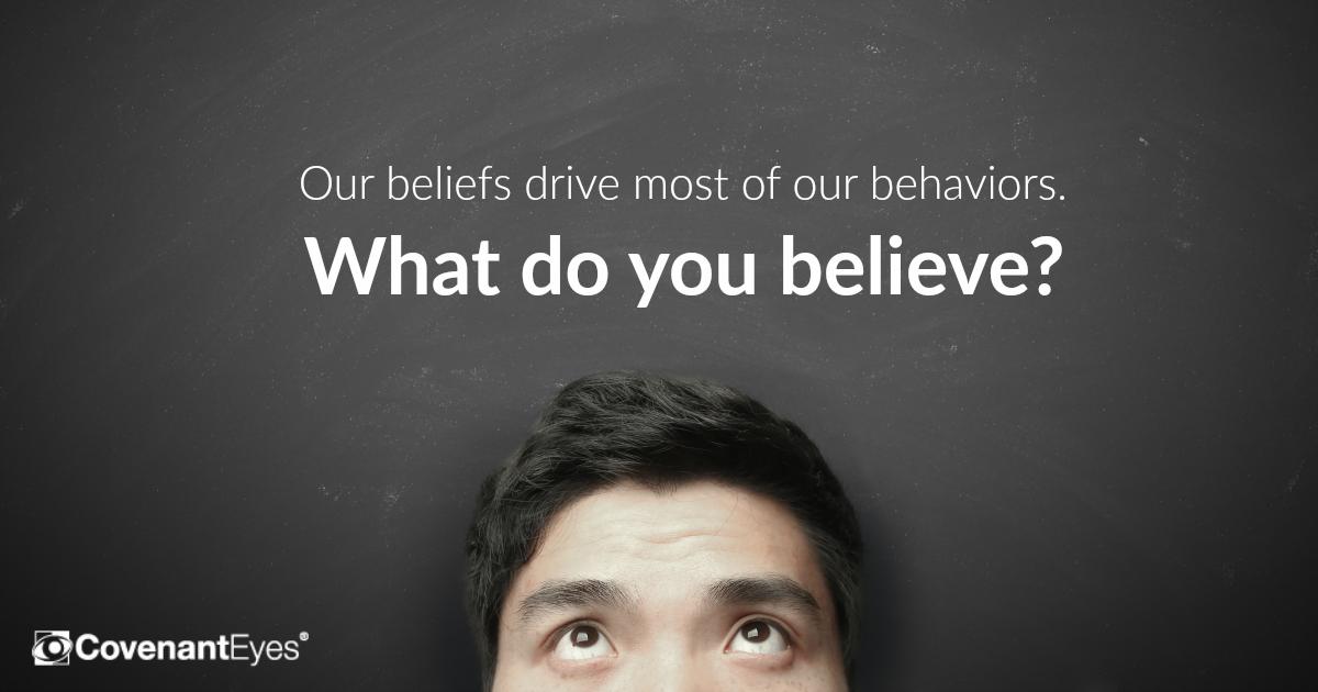 beliefs drive behavior