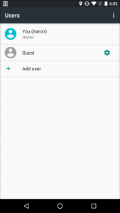 Can I Lock Down the Guest Profile on my Android™ Device
