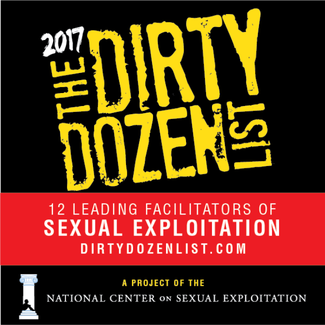 Dirty Dozen List 2017