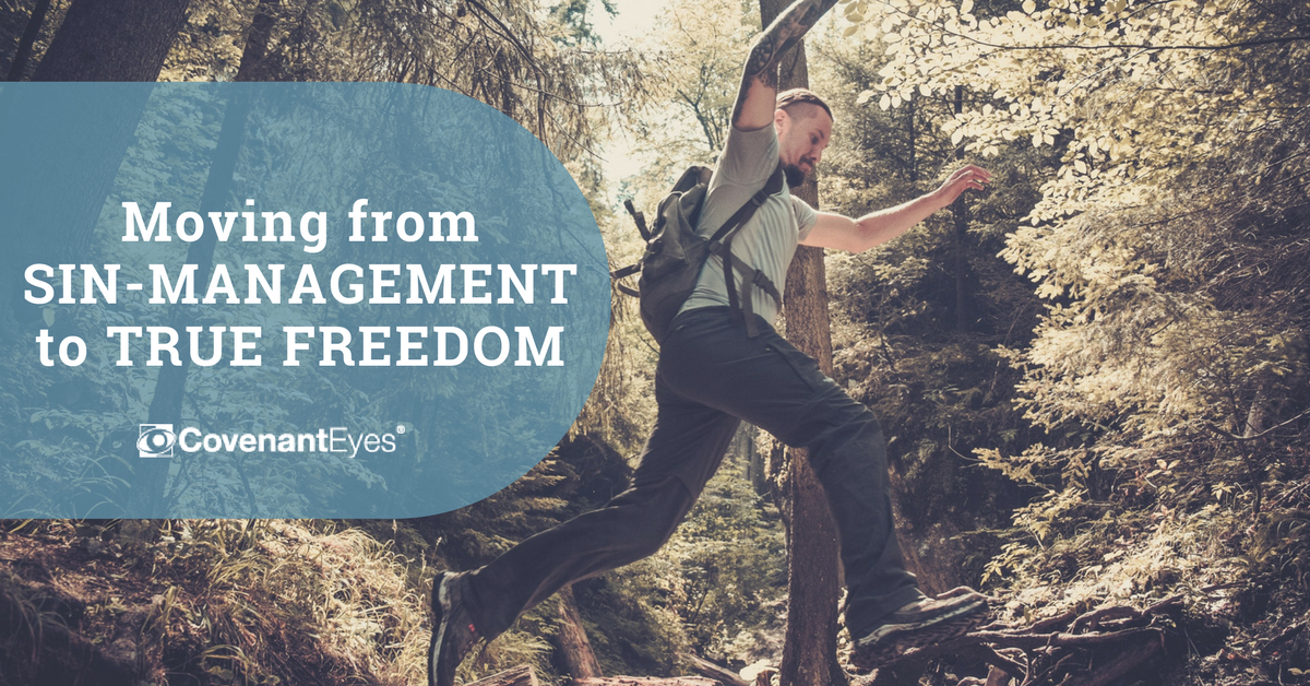 sin-management to true freedom