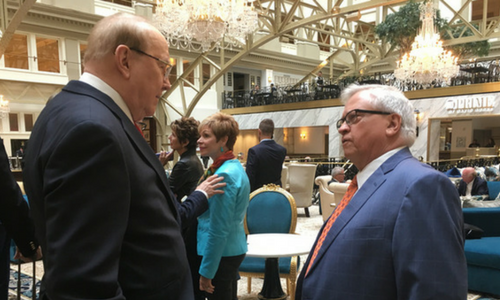 ron dehaas and dr. james dobson