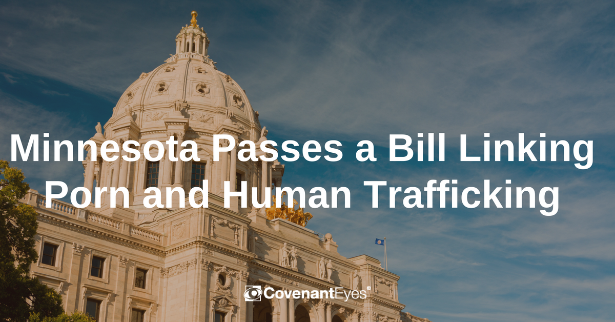 Minnesota passes bill linking porn and human trafficking