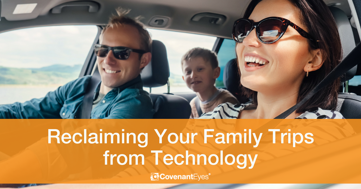 Reclaiming your family trips from technology