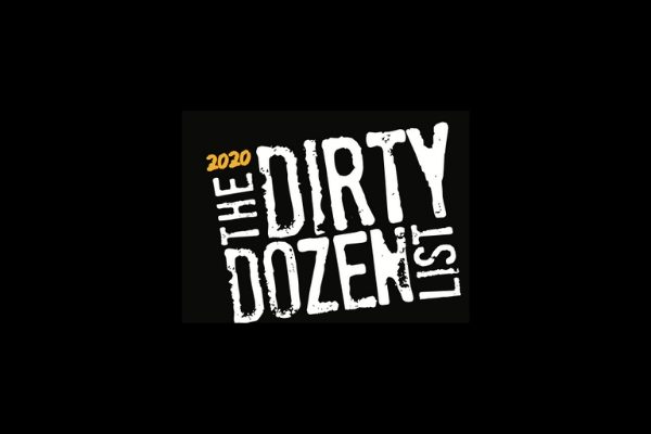 Dirty Dozen List 2020