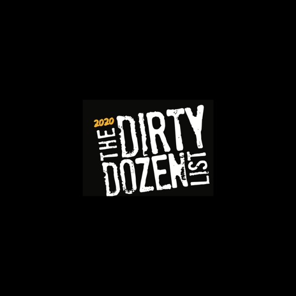 Dirty Dozen List 2020